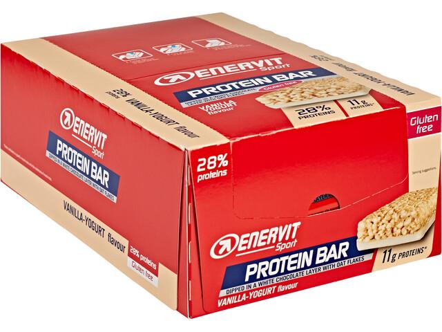 Enervit Sport Protein 28% Bar Sacoche 25x40g, Vanilla Yogurt